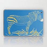 Stripped Zebra Laptop & iPad Skin