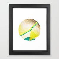XVII Framed Art Print