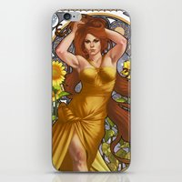Zodiac Art Show - Leo iPhone & iPod Skin