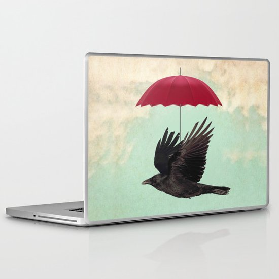 Raven Cover Laptop & iPad Skin