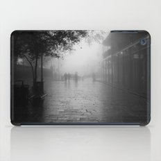 New Orleans on a foggy day iPad Case