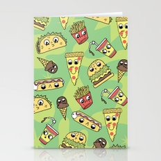 Snack Attack! Stationery Cards