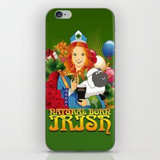 Natural Born Irish  iPhone & iPod Skin