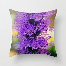 Purple Luck Throw Pillow
