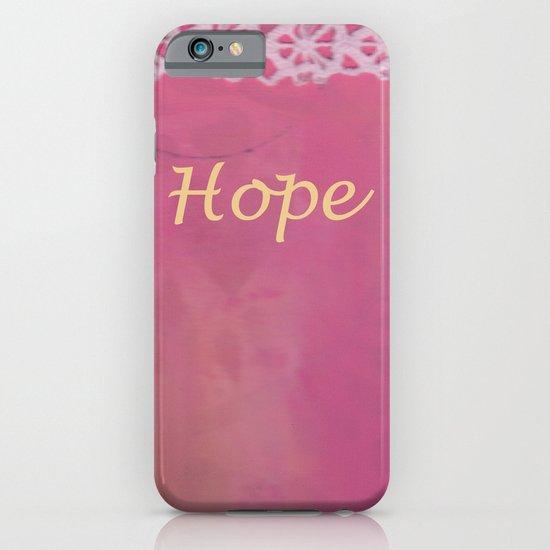 Hope #2 iPhone & iPod Case