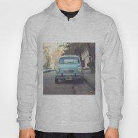 Mint - Blue Retro Fiat C… Hoody
