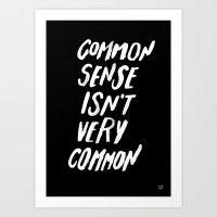 COMMON Art Print