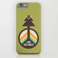 iPhone & iPod Case featuring For the Love of the Forest by Michelle Reaney