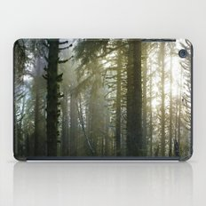 Foggy Forest #evergreen iPad Case