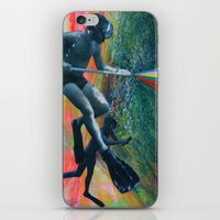 Cave Diver iPhone & iPod Skin