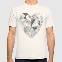 CHEMICAL REACTION  Mens Fitted Tee Natural SMALL