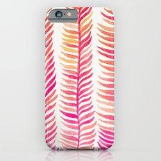 Pink Ombré Seaweed iPhone 6 Slim Case