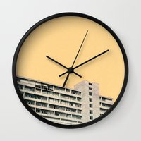 Hot in the City Wall Clock