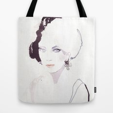 Fashion illustration in watercolors Tote Bag
