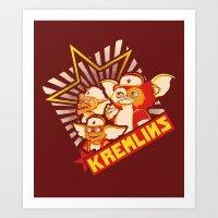 Kremlins Art Print