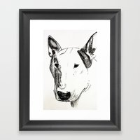 ATHOS. Framed Art Print