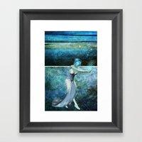 Queen Of The Sea... Dipt… Framed Art Print