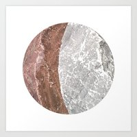 Planetary Bodies - Cresc… Art Print
