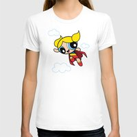 The Day Is Saved Womens Fitted Tee White SMALL