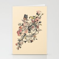butterfly Stationery Cards featuring La Dolce Vita by Norman Duenas