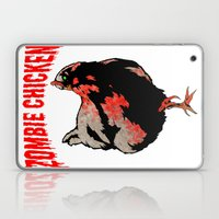 All Fear The Zombie Chicken! Laptop & iPad Skin