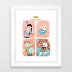 Babies Framed Art Print