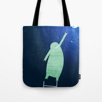 Monster Moon Tote Bag