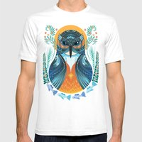 The Nesting Fisher King Mens Fitted Tee White SMALL