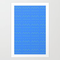 Look! A Bad Pattern! Art Print