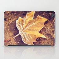 Autumn Frost iPad Case