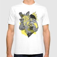 Vase on galaxies Mens Fitted Tee White SMALL