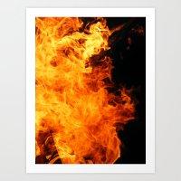 Fuego Art Print
