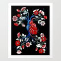 Romantic Anatomy Art Print