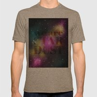 We are Stardust Mens Fitted Tee Tri-Coffee SMALL