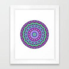 Geometric Mandala G386 Framed Art Print