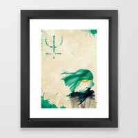 Sailor Neptune Framed Art Print