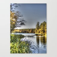 So Autumn Begins Canvas Print