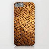 paving stone gold iPhone 6 Slim Case