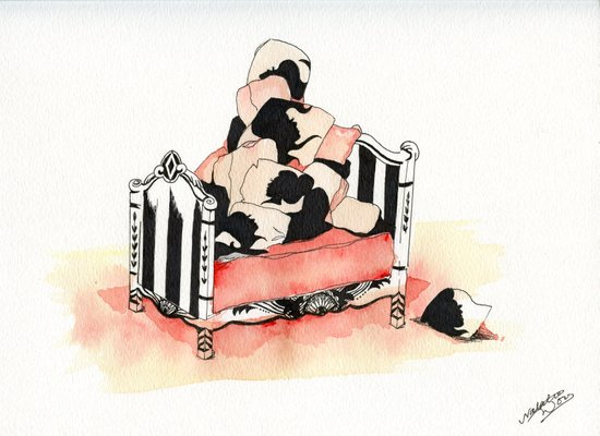 Pile High Art Print
