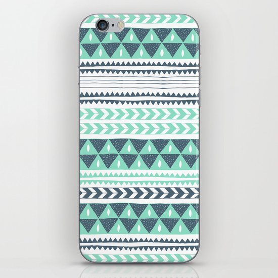 Winter Stripe iPhone & iPod Skin