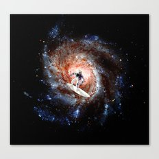 Ride The Spiral Canvas Print