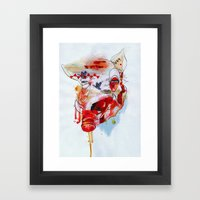 old major Framed Art Print