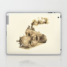 train of life Laptop & iPad Skin