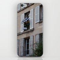 Parisian Awning iPhone & iPod Skin
