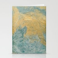 Copper Turquoise #03 Stationery Cards