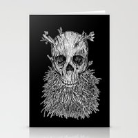 Lumbermancer B/W Stationery Cards