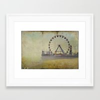Seaside Heights New Jersey  Framed Art Print