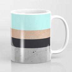 Abstract Turquoise Pattern Mug