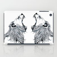 Growling Lion  iPad Case