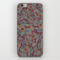 Rings Of Flowers iPhone & iPod Skin
